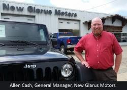 New Glarus Motors Welcomes Allen Cash as General Manager
