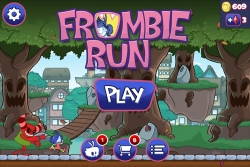 Frombie Run: a New Portal-Jumping Endless Runner Game for Mobile