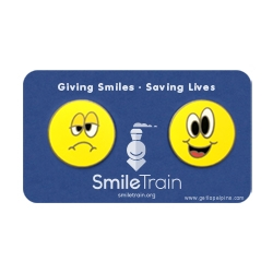 Get Lapel Pins Partners with Smile Train to Help Raise Awareness and Funds for Children with Clefts