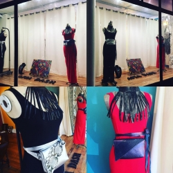 New Artist Launches in Historic Lambertville, New Jersey Afia Dash - Art, Leather, Treasure Grand Opening