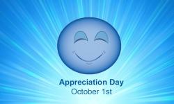 October 1st Appreciation Day Appreciation Society – The Appreciation People