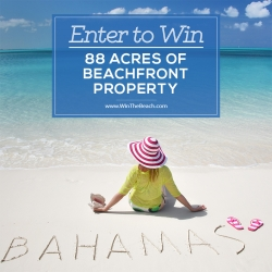 Crooked Island Holdings Limited is Raffling off 88 Acres of Beachfront Property in the Bahamas at WinTheBeach.com