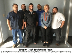 Badger Truck Equipment Moves Forward