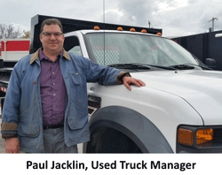 Badger Truck Center Welcomes Paul Jacklin, Used Truck Manager