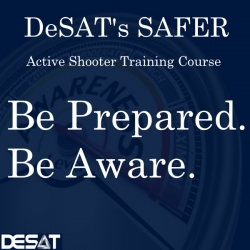 DeSAT Introduces New SAFER-3 On-line Active Shooter Training Course