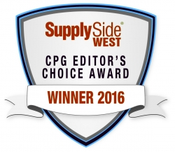 Mehdi Reishi Named 2016 CPG Editor's Choice Award Winner by Informa's SupplySide