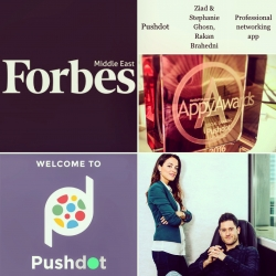 Pushdot Makes the Forbes' List of the Top 50 Startups to Watch in the UAE