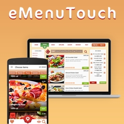 eMenuTouch is a Native Multi-Platform and Multilingual System, Rendering Guest Services on All Hospitality Venues in Remote and Real Time on Over 8.6 Billion Devices