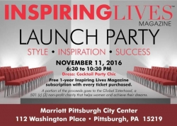 Inspiration Meets Fashion and Fun at Inspiring Lives Magazine's Red Carpet Launch Party