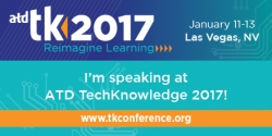 RK Prasad Speaking on Mobile Learning Challenges at ATD TechKnowledge® 2017