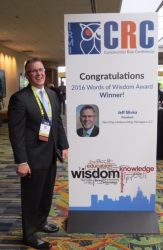 Jeff Slivka of New Day Underwriting Managers Honored with Words of Wisdom (WOW) Award at 36th  IRMI Construction Risk Conference