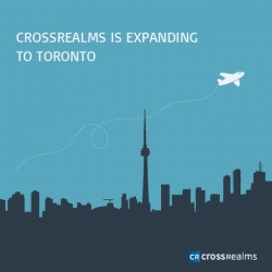 Business Technology Leader, CrossRealms Inc., Bridges Gap Between Chicago and Toronto