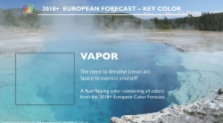 Color Marketing Group Announces 2018+ European Key Color - Vapor