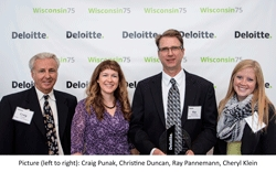 Badger Truck Center Presented with a Deloitte Wisconsin 75 Award