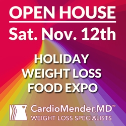 CardioMender, MD is Hosting a Holiday Weight Loss Food Expo on Nov. 12th