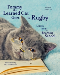 Tommy the Learned Cat Goes to Rugby School to Celebrate the 450th Anniversary of One of the Oldest Schools in the World #Rugby450