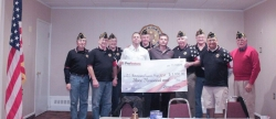 Michigan's Property Restoration Service, ProRestore, Donates $3,000 to American Legion's Berkeley Post Towards Restoration Activities