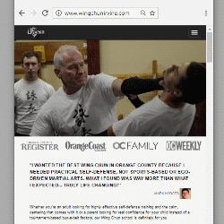 Award-Winning Martial Arts School Launches Website to Showcase the Self-Defense Effectiveness of Wing Chun