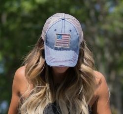 "Nogginwear Old Glory Hat Chosen for Mariah Carey's ""Sweet Sweet Fantasy"" Concert in Hawaii"