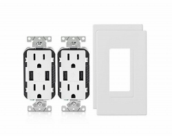 TheHardwareCity.com Expands Its Product Offerings with the Leviton Combination Duplex Receptacle and USB Charger