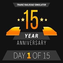 Trainz 15th Anniversary Celebration - Latest Product Release