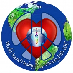 World Sound Healing Day ~ a Sonic Valentine for Earth on February 14, 2017