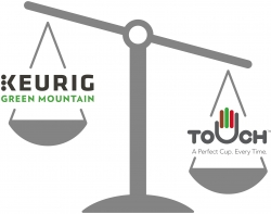Touch™ Wins a Significant Patent Victory to Protect Its Rights Against Keurig Green Mountain