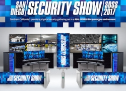 Inaugural Annual San Diego Security Show to Showcase Live Interactive Physical Security Wall