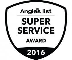 Anchor Blinds Earns Esteemed 2016 Angie's List Super Service Award