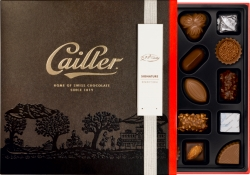 Win a Custom Box of Cailler Chocolate - Featuring Original Artwork of You and a Loved One - Just in Time for Valentine's Day