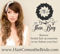 Try Before You Buy Bridal Hair Accessories
