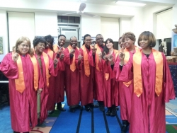 The Late Show's Gospel Choir's Free Concert at the Shrine