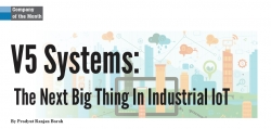 "V5 Systems Named to CIOReview's ""20 Most Promising IoT Solution Providers 2017"""