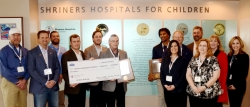 Texas Self Storage Association Surpasses $1 Million Lifetime Giving Amount for Shriners Children's Hospital - Galveston