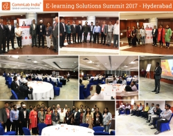 CommLab India's E-learning Solutions Summit 2017 Concludes on a Great Note in Hyderabad