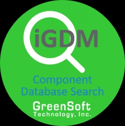 GreenSoft Technology, Inc. Launches iGDM: GreenData Manager Component Database Search