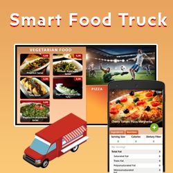 The New eMenuTouch Technology Can Transform a Food Truck Into Smart Food Truck