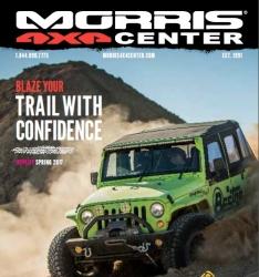 Morris 4x4 Center Announces First-Ever Spring Catalog