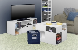 Regency Furniture Launches Niche Cubo Featuring Lockdowel-Easy-Assembly Online at Staples, Walmart and Amazon