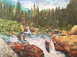 """Tarleton State University and The Dora Lee Langdon Cultural Center in Granbury, TX Announces the Solo Exhibition """"The Essence of the World"""" Artworks by Nataliya Scheib"""