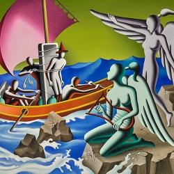 Mark Kostabi - Contempory Master at Martin Lawrence Gallery Lahaina