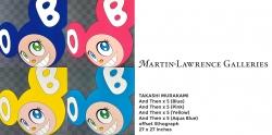 Martin Lawrence Galleries Exhibition of Takashi Murakami