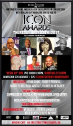 2017 ICON Awards to be Held at the Legendary Apache Cafe on Thursday, May 25th