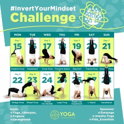 Yoga Media Group Goes Upside-Down on Instagram for Mental Health Awareness Month