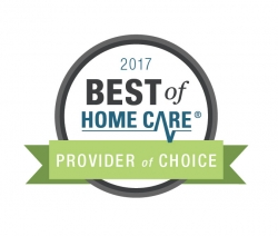 Hibernian Home Care Receives 2017 Best of Home Care® – Provider of Choice Award