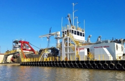 Manson Construction Co. Introduces New U.S. Dredge, the ROBERT M WHITE, to Its Expansive Fleet