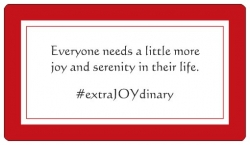 Everyone Needs a Little More Joy and Serenity in Their Life