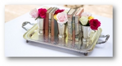 Ten Ways to Style Your Wedding with Books from BoothandWilliams.com