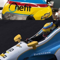 Blanchard Contact Lenses Sponsors Gabby Chaves for Indy 500 Race
