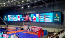 Most Advanced Volleyball Venue on the Planet Equipped with a Cutting-Edge Solution by Colosseo